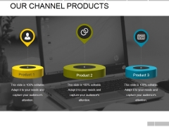 Our Channel Products Template Ppt PowerPoint Presentation Pictures Template