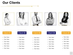 Our Clients Communication Ppt PowerPoint Presentation Pictures