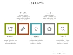 Our Clients Ppt PowerPoint Presentation Background Designs