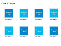 Our Clients Ppt PowerPoint Presentation Icon Display