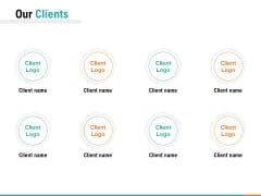 Our Clients Ppt PowerPoint Presentation Pictures