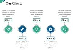 Our Clients Ppt PowerPoint Presentation Slides Graphics