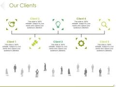 Our Clients Ppt PowerPoint Presentation Slides Structure