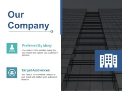 Our Company Ppt PowerPoint Presentation Ideas Slide