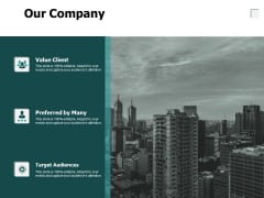Our Company Preferred By Many Ppt PowerPoint Presentation Outline Samples