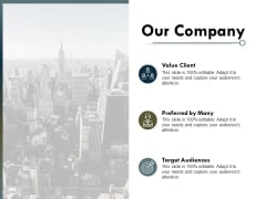 Our Company Values Client Ppt PowerPoint Presentation Summary Template