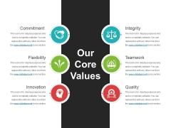 Our Core Values Template 1 Ppt PowerPoint Presentation Icon Portrait