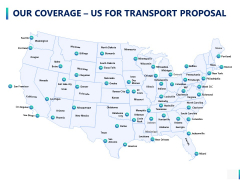 Our Coverage Us For Transport Proposal Ppt PowerPoint Presentation Show Rules