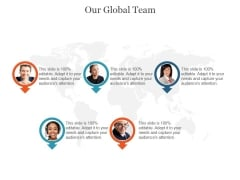 Our Global Team Ppt PowerPoint Presentation Slide Download