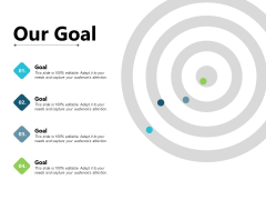 Our Goal Distribution Plan Ppt PowerPoint Presentation Inspiration Structure