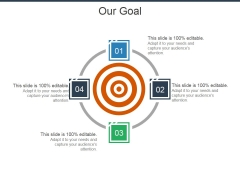 Our Goal Ppt Powerpoint Presentation Design Ideas