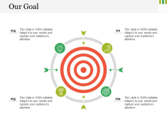 Our Goal Ppt PowerPoint Presentation Icon Picture