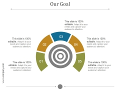 Our Goal Ppt PowerPoint Presentation Influencers