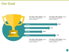 Our Goal Ppt PowerPoint Presentation Infographics Guide