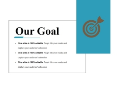 Our Goal Ppt PowerPoint Presentation Layouts Maker