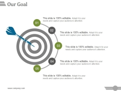 Our Goal Ppt PowerPoint Presentation Layouts