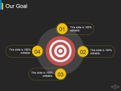 Our Goal Ppt PowerPoint Presentation Model Background Images