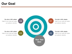 Our Goal Ppt PowerPoint Presentation Model File Formats