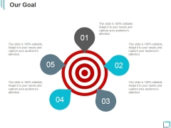 Our Goal Ppt PowerPoint Presentation Model