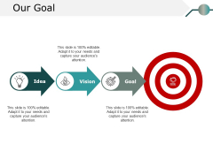 Our Goal Ppt PowerPoint Presentation Model Structure