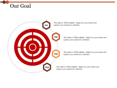 Our Goal Ppt PowerPoint Presentation Model Topics