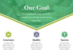 Our Goal Ppt PowerPoint Presentation Outline Mockup