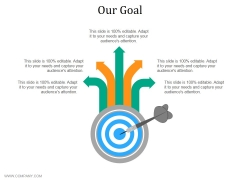 Our Goal Ppt PowerPoint Presentation Outline Show
