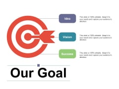 Our Goal Ppt PowerPoint Presentation Pictures Backgrounds