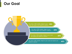 Our Goal Ppt PowerPoint Presentation Professional Graphic Images