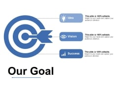 Our Goal Ppt PowerPoint Presentation Professional Icons
