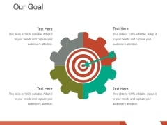 Our Goal Ppt PowerPoint Presentation Professional Images