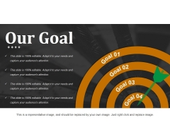 Our Goal Ppt PowerPoint Presentation Professional Inspiration