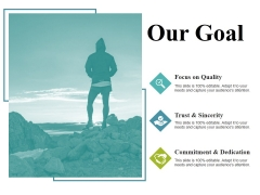 Our Goal Ppt PowerPoint Presentation Professional Samples
