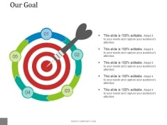 Our Goal Ppt PowerPoint Presentation Professional