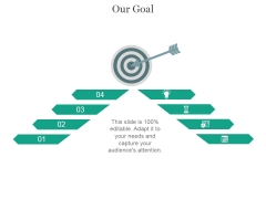Our Goal Ppt PowerPoint Presentation Shapes