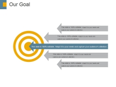 Our Goal Ppt PowerPoint Presentation Slides Grid