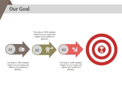 Our Goal Ppt PowerPoint Presentation Styles Outline