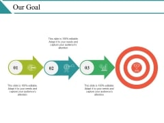 Our Goal Ppt PowerPoint Presentation Styles Slide