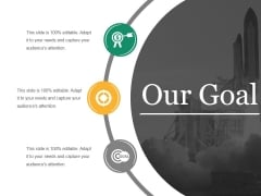 Our Goal Ppt PowerPoint Presentation Summary Deck