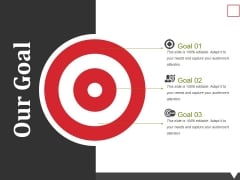 Our Goal Ppt PowerPoint Presentation Summary Graphics