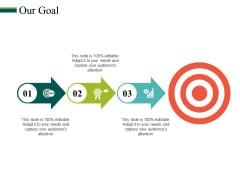 Our Goal Ppt PowerPoint Presentation Summary Layout