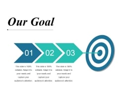 Our Goal Ppt PowerPoint Presentation Summary Professional