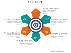 Our Goal Ppt PowerPoint Presentation Visual Aids