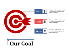 Our Goal Success Ppt PowerPoint Presentation Inspiration Images