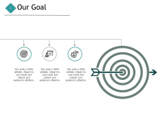 Our Goal Targets Ppt PowerPoint Presentation Portfolio Skills