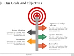 Our Goals And Objectives Ppt PowerPoint Presentation Example File