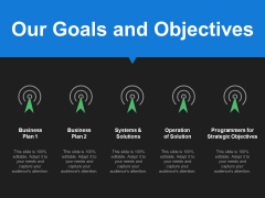 Our Goals And Objectives Ppt PowerPoint Presentation Infographics Outline