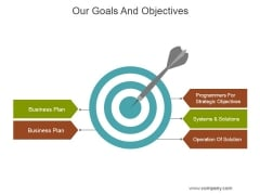 Our Goals And Objectives Ppt PowerPoint Presentation Slide Download