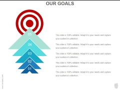 Our Goals Ppt PowerPoint Presentation Example