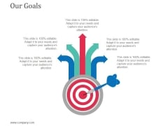 Our Goals Ppt Powerpoint Presentation Icon Mockup